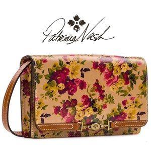 NWT ❤️ Patricia Nash Apricale Antique Rose purse
